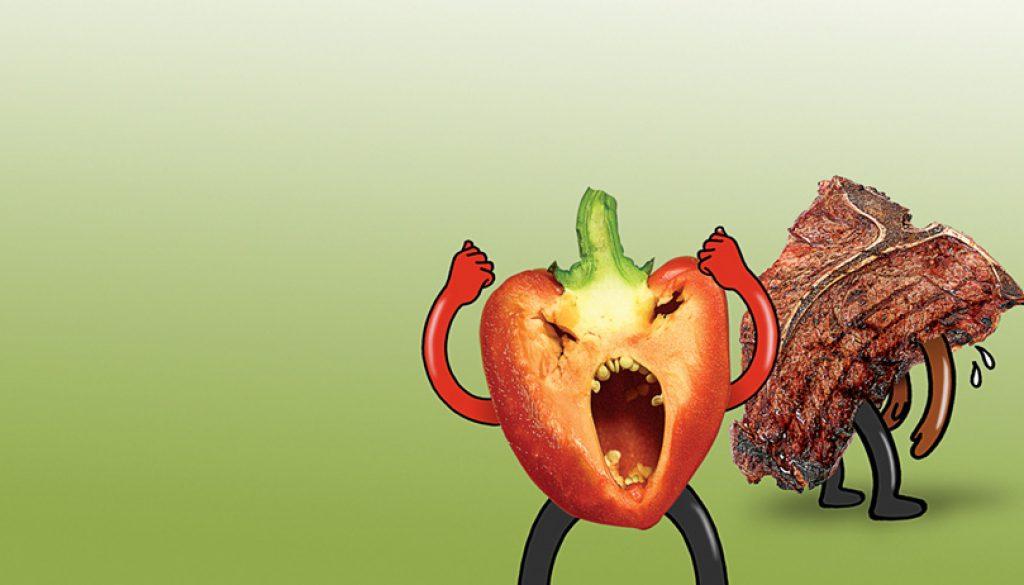 一段素食和葷食的精彩對話,爲何要吃素?