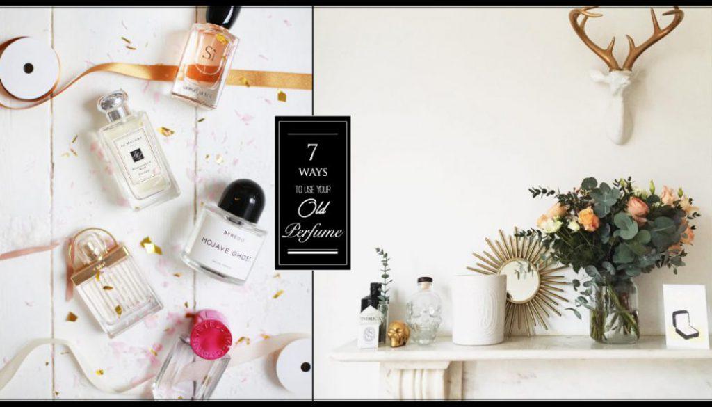 過期香水先別急著丟,用這七種方法讓你的生活依然芬芳