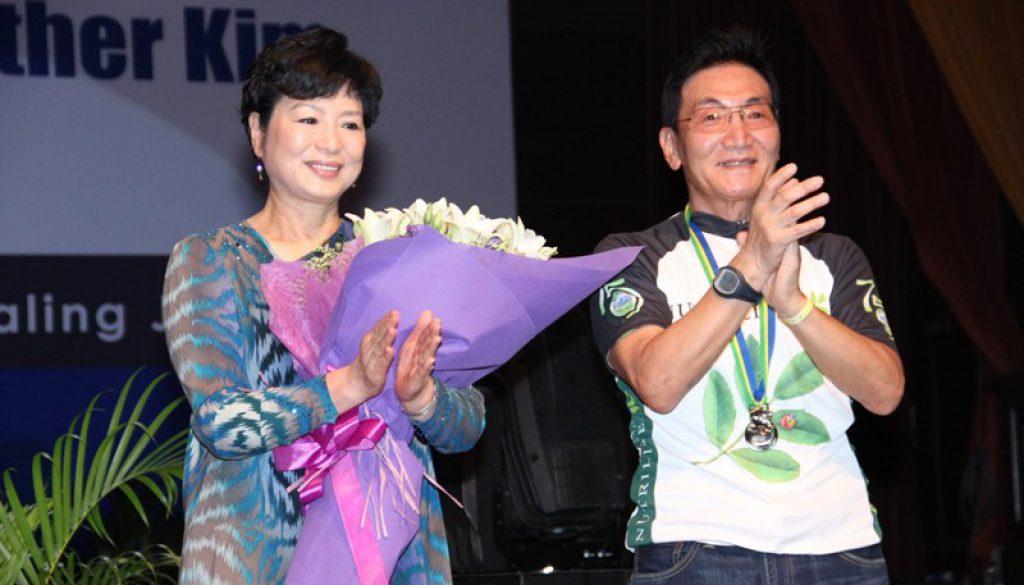 安利韩国皇冠大使金日斗夫妇