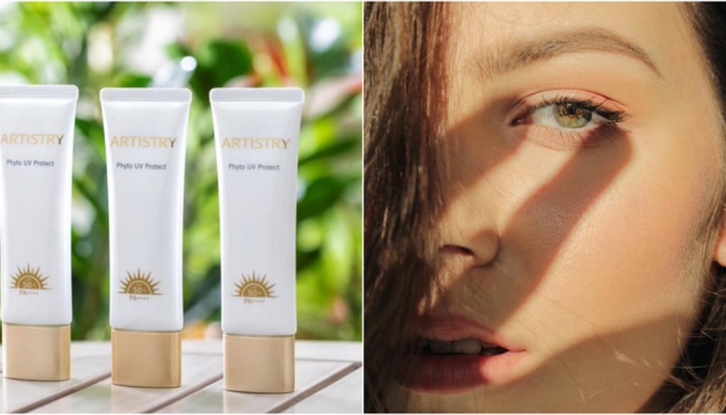 抗老關鍵字第一名「防曬」!「ARTISTRY植萃UV防護乳」給你無懈可擊的防護力